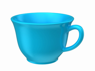 3d render of a cup
