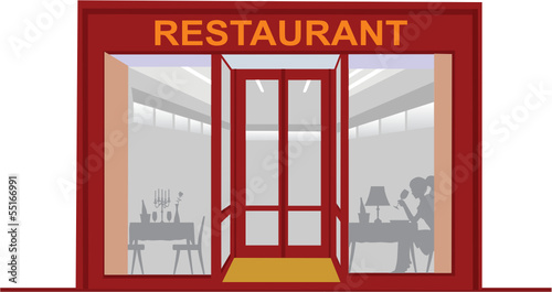 Restaurant exterieur stock image and royalty free vector for Exterieur restaurant