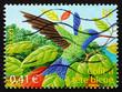 Postage stamp France 2003 Blue-headed Hummingbird, Bird