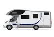 Camper Van Isolated - 55168596