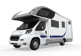 Camper Van Isolated