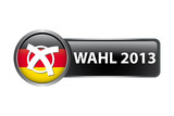 Wahl 2013 - Button