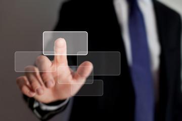 smart interface of business technology