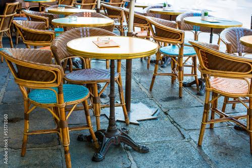 traditional Parisian coffee