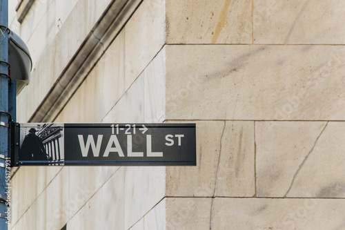 Wall Street - New York - Usa
