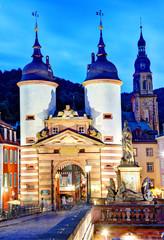 "Heidelberg, Germany, ""Brückentor"" Old Bridge"