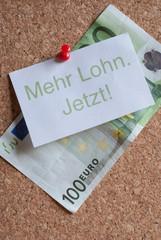 Mehr Lohn