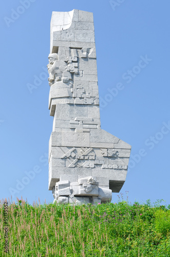 Poster Westerplatte monument