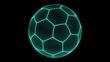 Soccer ball. Looping.