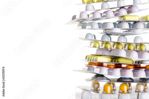 Medikamente Textfreiraum