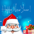 Happy new year. Christmas Background.