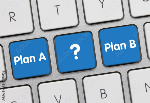 Plan A or plan B keyboard