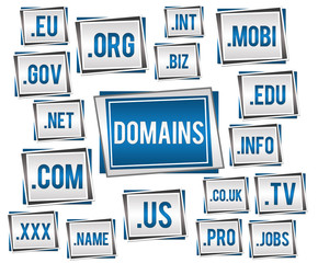 Domains Blue Grey
