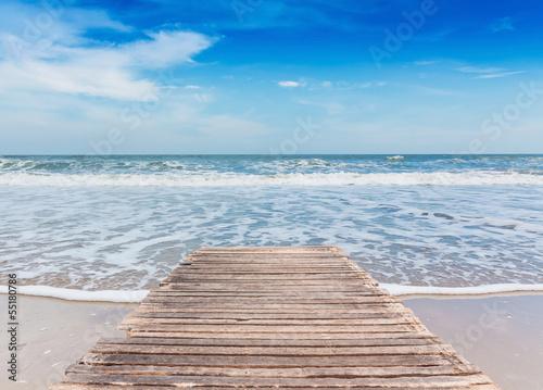 Fototapeten,strand,landesteg,meer,ozean