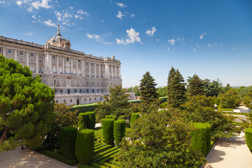 Madrid Royal Palace and Sabatini Gardens