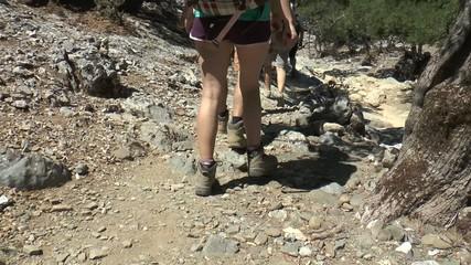 trekking en crête