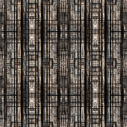 canvas print picture Metall matrix - Seamless-Tiling