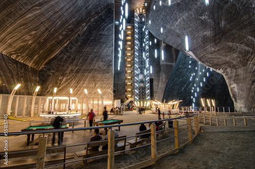 Salt extraction Turda