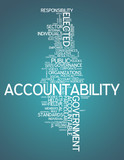 "Word Cloud ""Accountability"""