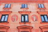 Fototapety Historische Hausmalerei