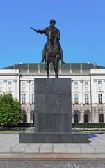 Denkmal des Fürsten Jozef Poniatowski,