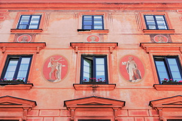 Historische Hausmalerei