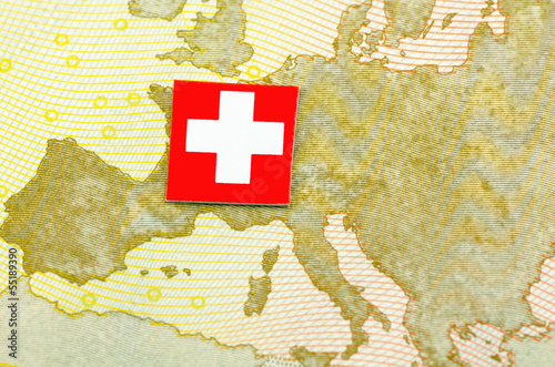 canvas print picture Schweiz-Europa