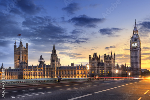 Papiers peints Londres Abbaye de westminster Big Ben London