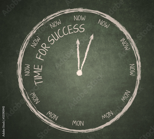 Time for success on blackboard