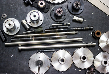 gear and Bearing for machine