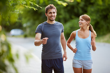 Friendly runners