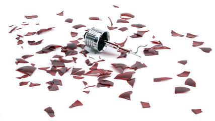 разбитая лампочка