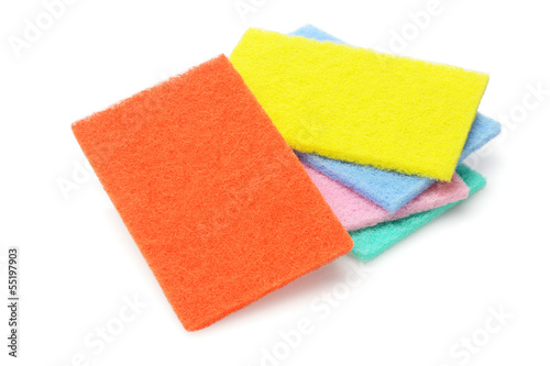 Colorful Kitchen Scourers