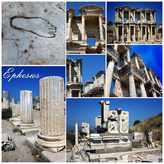 Ephesus,Turkey-collage