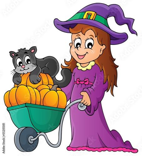 Halloween theme image 2