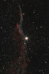NEbulosa velo nella costellazione del Cigno