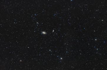 Galassie nel cielo notturno