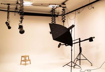 Professional photo studio and equipment