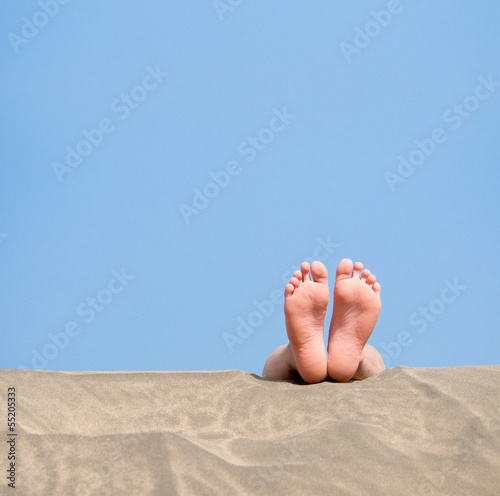 canvas print picture Strandurlaub