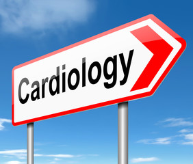 Cardiology concept.