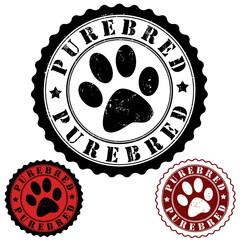 Purebred stamp