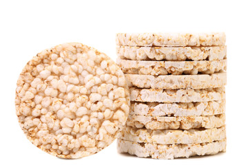Stack of rice cakes