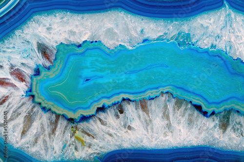 Blue agate background