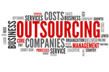 Outsourcing (outsource, offshoring, tag cloud)