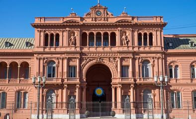 The Casa Rosada in Buenis Aires
