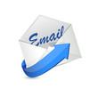 email envelope illustration design
