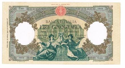 5000 Lire dell'Anno 1947