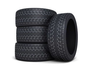 Winter tire car