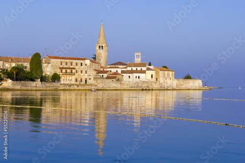 Porec in the dawn sun