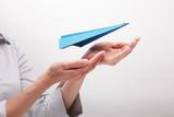 Fototapety Insurance flights (concept)